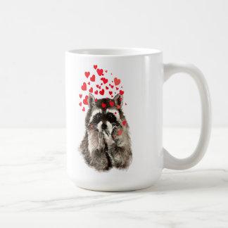 Taza De Café Arte de la naturaleza animal de los besos del