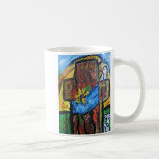 Taza De Café Arte de Pascua