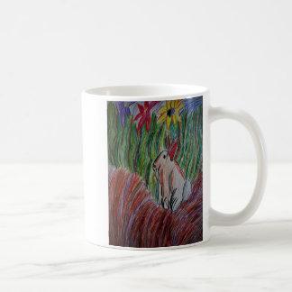 Taza De Café arte del conejito