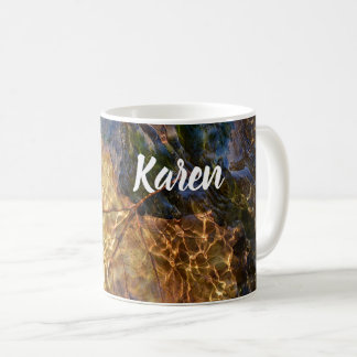 Taza De Café Arte fotográfico de la naturaleza de Karen