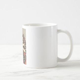 Taza De Café Arte para mujer de Utamaro Yuyudo Ukiyo-e de la