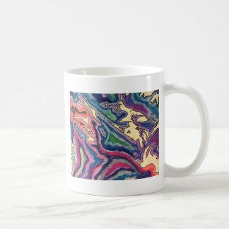 Taza De Café Arte topográfico I del papel seda