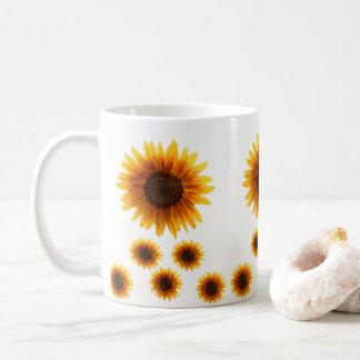 Taza De Café asalta los girasoles
