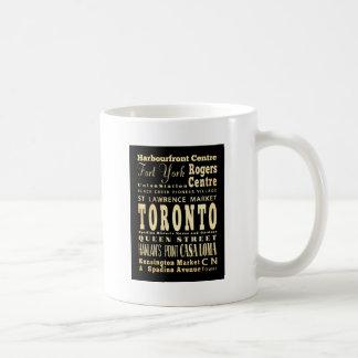 Taza De Café Atracciones y lugares famosos de Toronto, Canadá