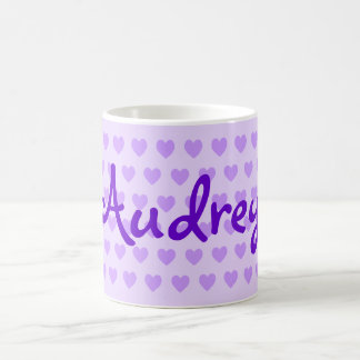 Taza De Café Audrey en púrpura