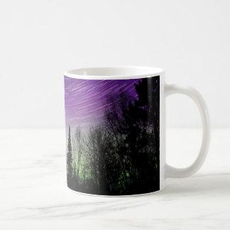 Taza De Café Aurora boreal - aurora Borealis - rastros de la