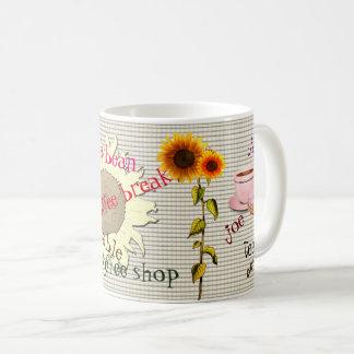Taza de café auténtica