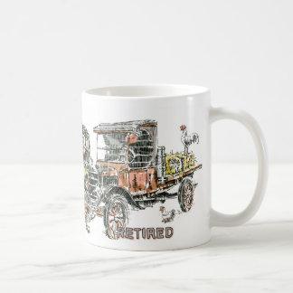 Taza De Café Auto: Vehículos dilapidados