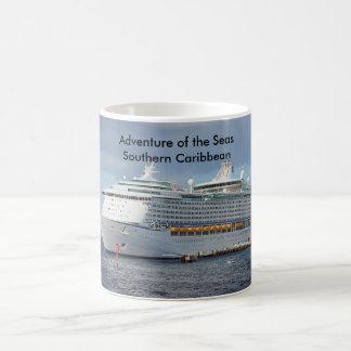 Taza De Café Aventura de la travesía meridional de los mares