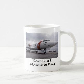 Taza De Café Aviación del guardacostas   en su más fino