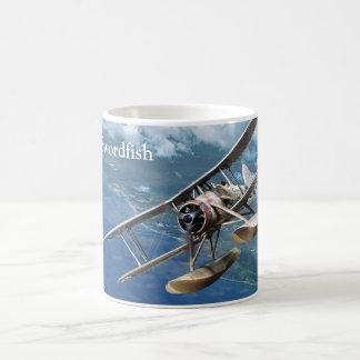 """Taza De Café Aviation Art Mug """"Fairey Swordfish"""""""