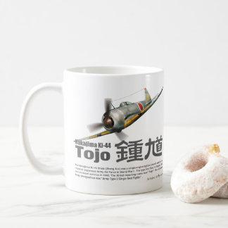 "Taza De Café Aviation Art mug ""Nakajima Ki-44 Tojo"""