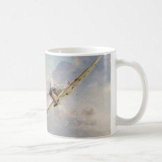 """Taza De Café Aviation art mug """"Spitfire"""""""
