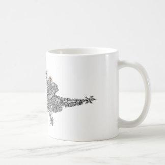 Taza De Café Avión de combate del avispón F18 - parásitos