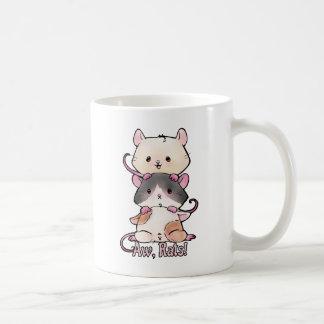 Taza De Café ¡Aw, ratas!