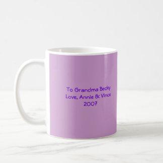 Taza De Café baby1, usted va a ser. , una abuela. ¡Otra vez! ,…
