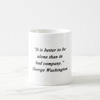 Taza De Café Bad Company - George Washington