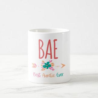 Taza De Café BAE - La mejor tía Ever