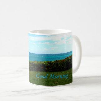 Taza De Café Bahamian de la buena mañana