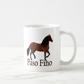 """Taza De Café Bahía """"Paso Fino """" de Paso Fino"""