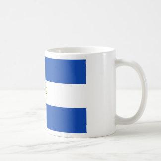 Taza De Café ¡Bajo costo! Bandera de El Salvador
