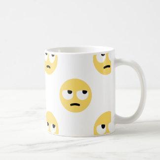 Taza De Café balanceo del ojo del emoji