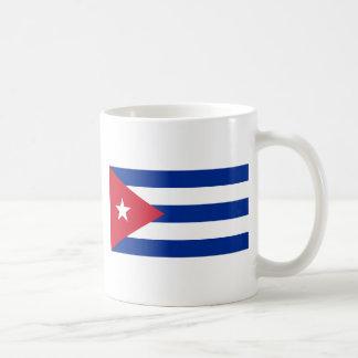 Taza De Café Bandera cubana - Bandera Cubana - bandera de Cuba