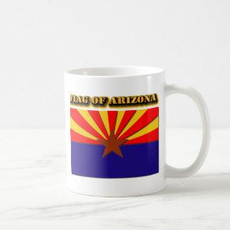 Taza De Café Bandera de Arizona