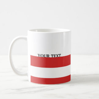Taza De Café Bandera de Austria