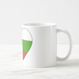 Taza De Café Bandera de Bulgaria simple