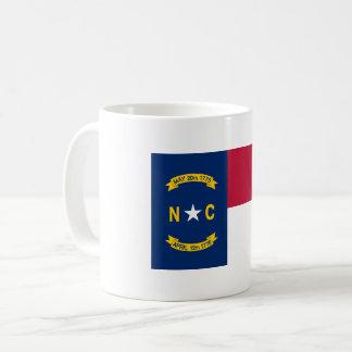 Taza De Café Bandera de Carolina del Norte