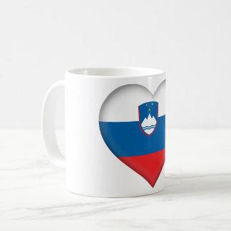 Taza De Café Bandera de Eslovenia