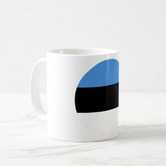 Taza De Café Bandera de Estonia