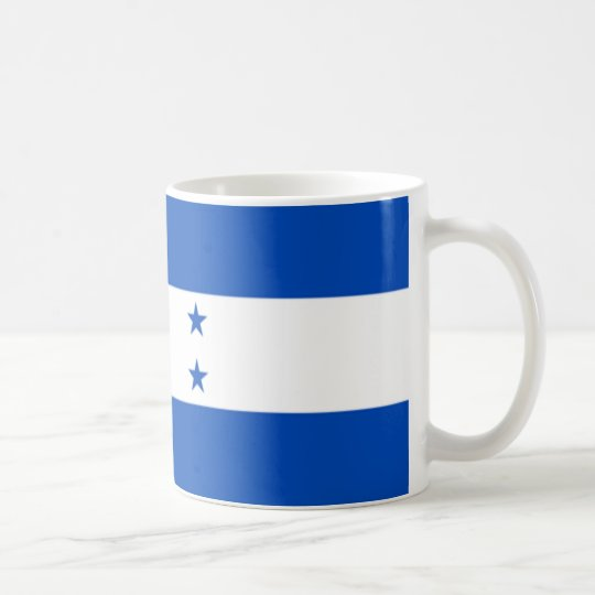 Taza De Café Bandera de Honduras