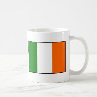 Taza De Café Bandera de Irlanda