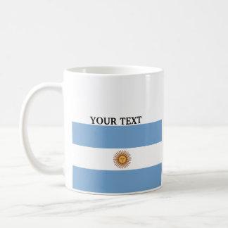 Taza De Café Bandera de la Argentina