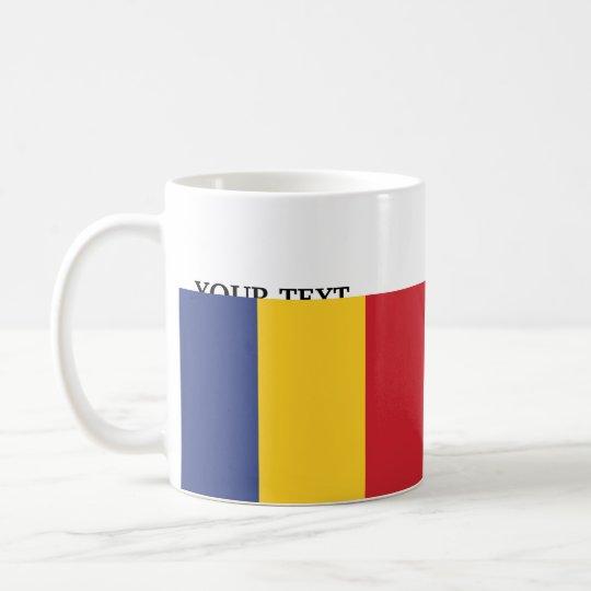 Taza De Café Bandera de Rumania