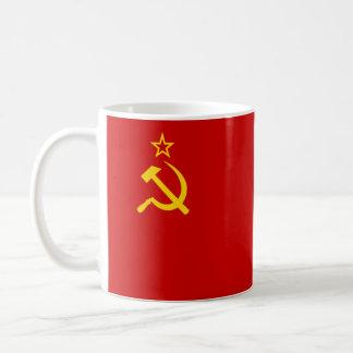 Taza De Café Bandera de Unión Soviética