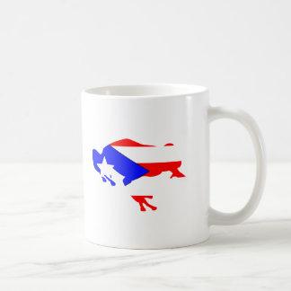 Taza De Café bandera del coqui
