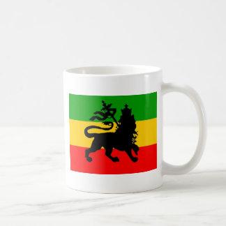 Taza De Café Bandera del león