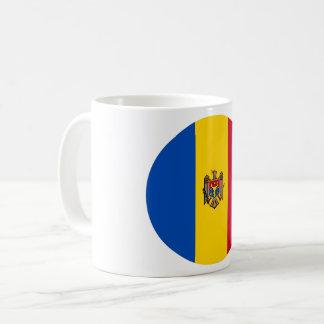 Taza De Café Bandera del Moldavia