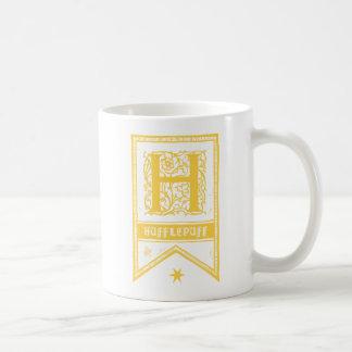 Taza De Café Bandera del monograma de Harry Potter el  