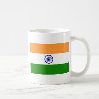 """Taza De Café Bandera india """"Tiranga """" del buen color"""