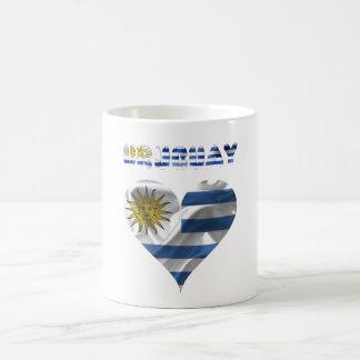 Taza De Café Bandera uruguaya
