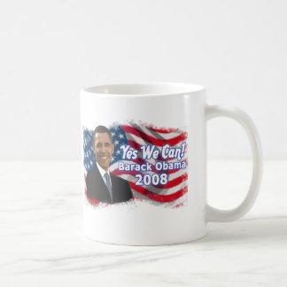 Taza De Café Barack Obama para presidente Mug