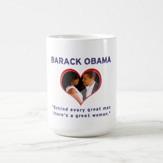 Taza De Café Barack y Michelle Obama