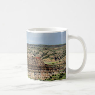 Taza De Café Barranco pintado en los Badlands de Dakota del