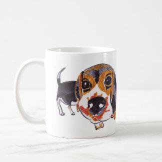 Taza De Café Beagle codicioso