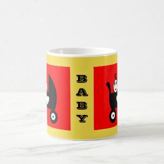 Taza De Café Bebé de la familia del palillo