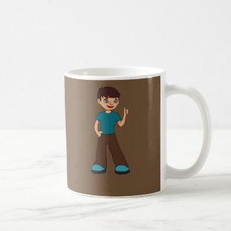 Taza De Café bebé del chil